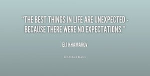 Quotes About Unexpected Things