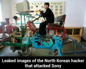 pics hacker korea north and south korea
