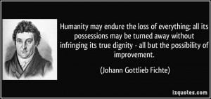 Loss of Humanity Quotes