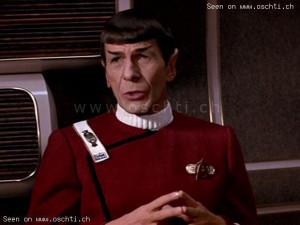 Star Trek Wrath of Khan Spock