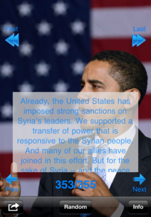 Download Obama Famous Quotes iPhone iPad iOS