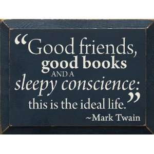 the importance of a conscience in huckleberry finn by mark twain Mark twain was not quite 50 when he published the adventures of huckleberry finn in february 1885, and in so doing, changed american literature until then, many of our writers had flirted with vernacular expression, most notably thomas paine, whose common sense, was written to appeal to (and to.