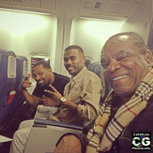 Mike Epps, Lil Duval and John Witherspoon take an amazing photo on a ...