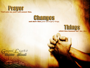 The most important thing a born again Christian can do is to pray ...