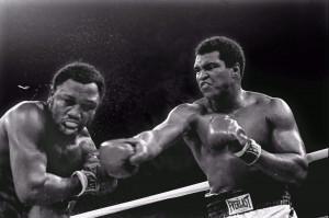 Muhammad Ali vs. Joe Frazier in Thrilla in Manila, Quezon City, Metro ...