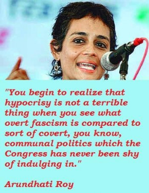 Arundhati roy famous quotes 5
