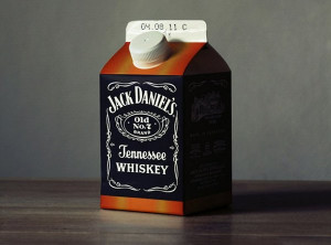 Jack Daniels in a Milk Carton - Image