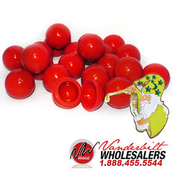 50 RED BHO Oil Wax Jar Dab Ball Concentrate Container