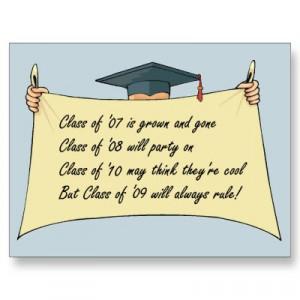 poems on graduation