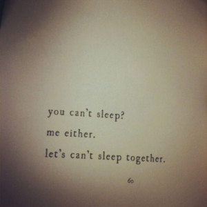 You Can't Sleep Me Either Let's Can't Sleep Together - Books ...