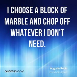 Auguste Rodin Art Quotes