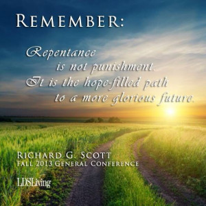 Great quote about repentance