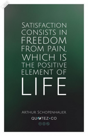 The positive element of life green quote