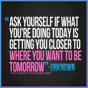 Ask yourself...