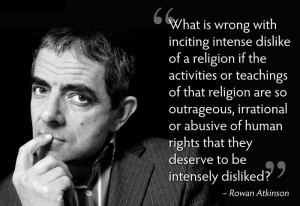 dislike of a religion if the activities or teachings of that religion ...