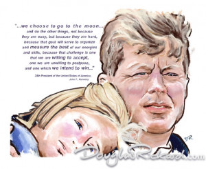 Quotes Jfk Moon ~ John F Kennedy Quotes - To The Moon