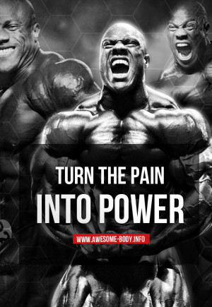 Phil Heath Quotes Workout Gym Bodybuilding Life Motivation