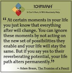 Adam Braun quote from The Promise of a Pencil.