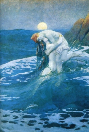 Howard Pyle, The Mermaid, 1910