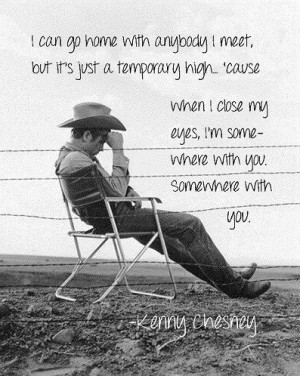 Kenny Chesney. Somewhere With You.