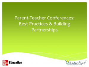 parent teacher conference quotes