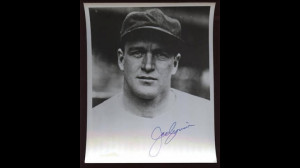 Joe Cronin Autographed Photo B &E Holo