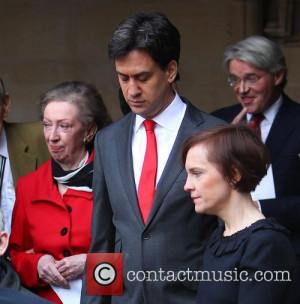 margaret beckett ed miliband justine thornton funeral of tony 4127536