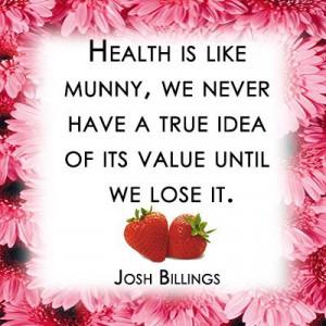 health is like munny