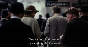 Sad Movie Quotes About Life Life peace mov... sad movie