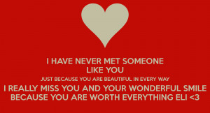 HAVE NEVER MET SOMEONE LIKE YOU JUST BECAUSE YOU ARE BEAUTIFUL IN ...
