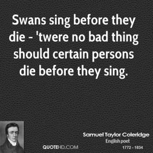 Samuel Taylor Coleridge Nature Quotes