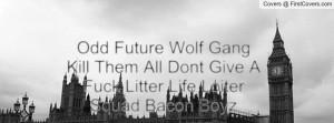 Odd Future Wolf Gang Kill Them All Dont Give A Fuck Litter Life Loiter ...