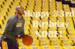Happy Birthday Lakers
