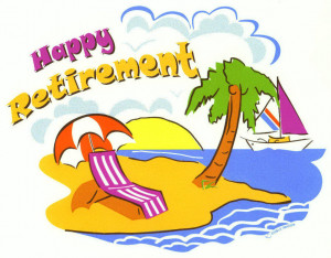 retirement word cloud concept happy retirement clip art