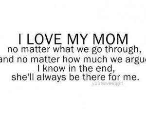 Sorry Mom Quotes Sorry mom. via cathy ann