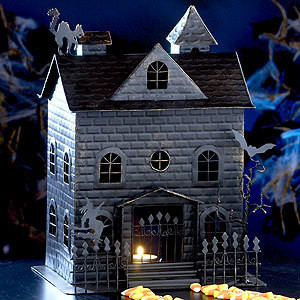 Halloween Collage Haunted House