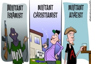 Militant Atheist - atheism Fan Art