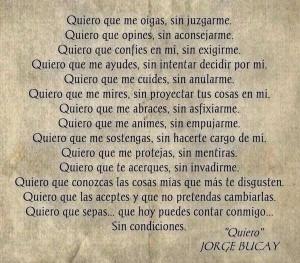 Quiero... Jorge Bucay