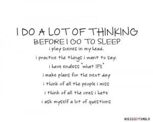 dark, emo, heart, love, quotes, sad, sleep, text, think, thinking ...