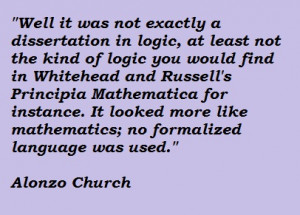 Alonzo Church's quote #2