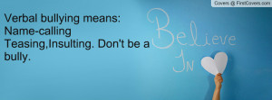 Bullying Quotes From Celebrities