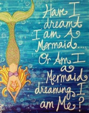 ... am a mermaid, or am I a mermaid dreaming I am me? #lalaloopsy #mermaid