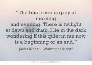 Jack Gilbert}