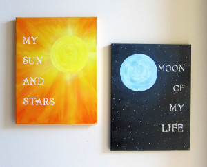 Popular items for my sun and stars on Etsy