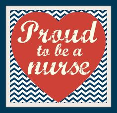 ... Proud to be a nurse. Proud to be an RN. #nurse #nursesweek #quote More