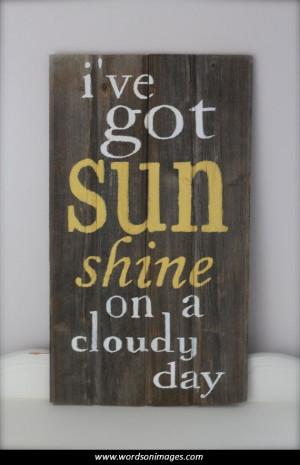 rainy day inspirational quotes