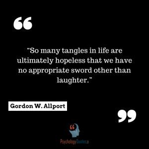 Gordon W. Allport quotes psychology quotes