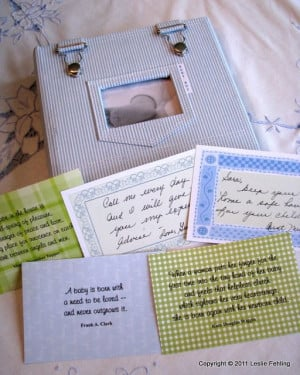sayings to put in a book baby shower