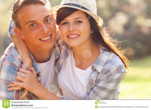 Cute Teenage Couple...