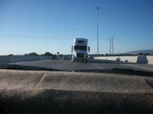 Funny Semi Truck Quotes Semi looking right at me.